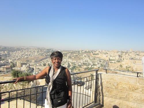 adrienne in jerusalem