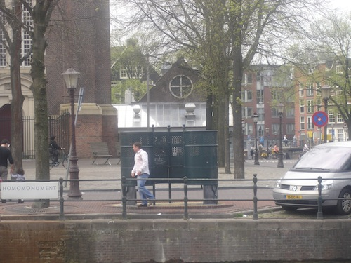 amsterdam outdoor toilet