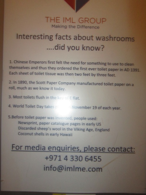 moe bathrooms facts