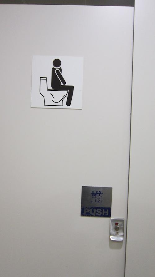 toilet sitter