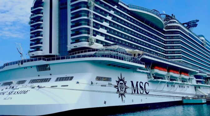 MSC SEASIDE – SHIP REVIEW